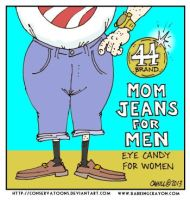 Obama Jeans cartoon by Conservatoons