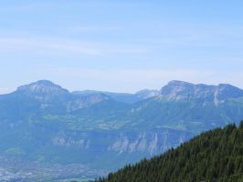 view to the Chartreuse from Pipay by Sweetlylou
