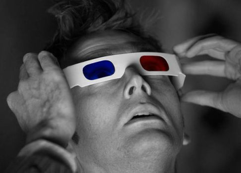 Doctor Who 3D Glasses II by totallehmaddeh