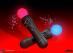 Playstation Move 3D model by Kidel