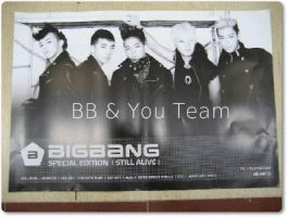 The official poster of BIGBANG  Special Edition by Suki-Poulpe