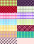 Plaid Pattern Set by krystalamber2009