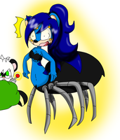 why am I spider now by queenmafdet