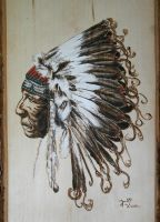 Native American by Tahlavain