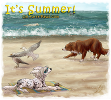 Summer Time by dalmatianluver
