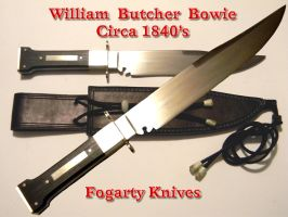 William Butcher Bowie by hillbillybladesmith