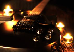 Epiphone Goth Les Paul by joelwho