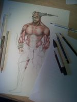Muscle Demon. by Daviddleonluis