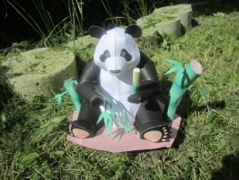Panda Papercraft. by Odolwa5432