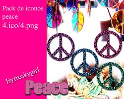 peace icons by cindirella19