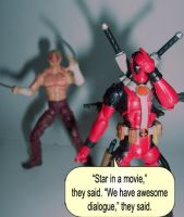 Deadpool and his movie deal. by Hext