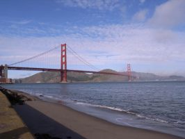 Golden Gate Bridge by agentraygun
