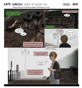 KM Goes to Silent Hill [Issue# 0010] by campinkarl