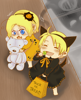 APH: Trick or Treat by la-coir