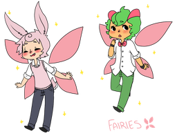 HPM :: Fairies by Pyracanthii