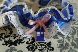 TARDIS Doctor Who Garter by DarlingArmy