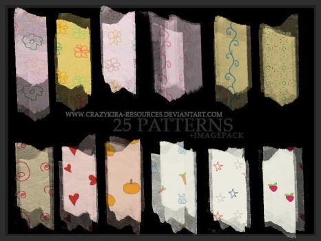 Cutie Patterns by crazykira-resources