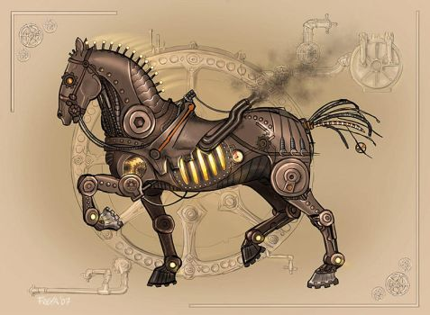 Steam Horse by Vermin-Star