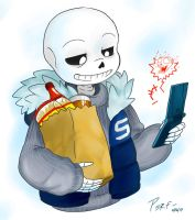 Undertale:Could Use Some Meat on Those Bones by perfectshadow06