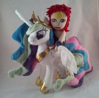 Ziggy Stardust and the Celestia from Mars by dollphinwing