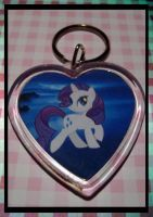 MLP: Rariety 01 Keychain by ObjectionSoS