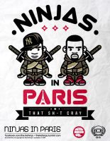 Ninjas In Paris by supermanisback