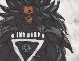 New Black lantern Broly by ChahlesXavier