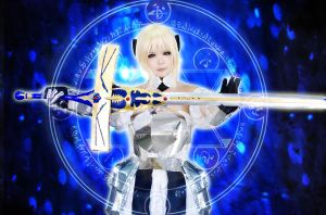 Fate/unlimited codes - Saber Lily by rinabyakuran