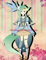 Adoptable Auction O2 [CLOSED] by FallieAngel