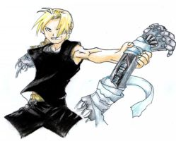 Edward Elric by NinjaWithAHat