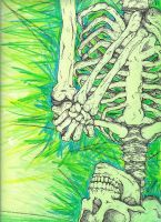 Skeleton by Ur-A-Bad-Cat-Man