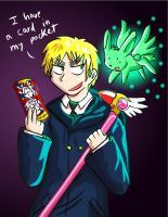 APH - British Card Captor by fiori-party