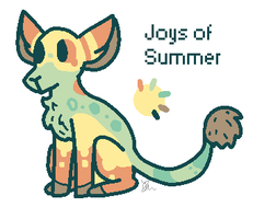 :OPEN: Joys Of Summer mini Flumie by kittystuff