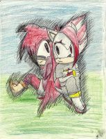 Two Young Hedgehogs by NayrutheTiger