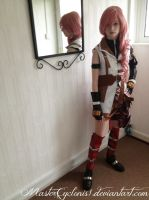 Final Fantasy XIII Lightning Cosplay by MasterCyclonis1