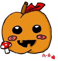 Autumn Apple by apples-art