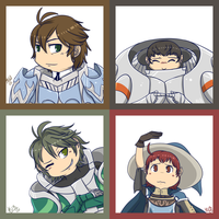 FE- Portraits 2 by Kilala04