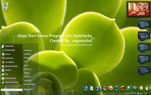 Glass ProgramList StyleHacks by sagorpirbd