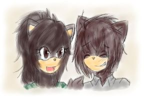 Cherry me and my friend Vero by ElixChan