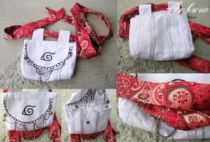 Anbu Pouch and Belt by shinigami714