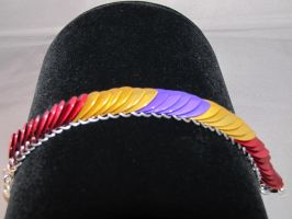 RJ's Magus-Inspired Scale Bracelet by Spryteness