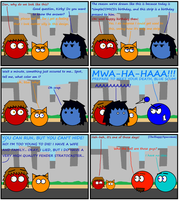 Dan Comics No.21 - Happy Birthday simpleCOMICS! by TheHappySpaceman01