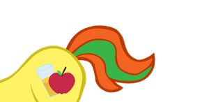 (gifted for Digigex90)  Applejuice's flank by kuren247