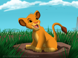 Simba The Lion by Domestic-hedgehog