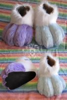 Abbey Cat Feet by LobitaWorks