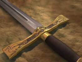 Sword by Trevor-Stephen-Smith
