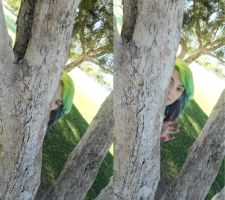 Peek-a-boo by BrookePricer