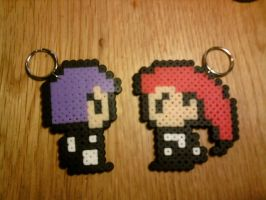 jesse and james perler by kitten-cupcake