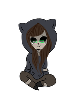 Sitting Chibi for Lubia193 by EvilError