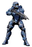 Halo 4 MJOLNIR GEN2 POWERED ASSAULT ARMOR by KingFicus